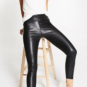 Charlotte Russe sexy Faux  leather leggings 👌💖
